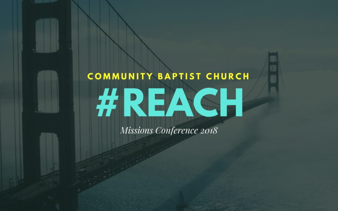 #REACH- Missions Conference 2018